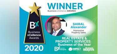 Winner 2020 - Business xCellence Awards